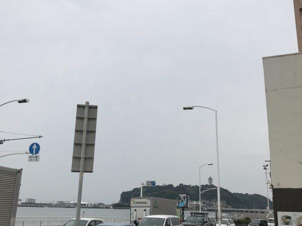 本日の江ノ島東浜コンディション