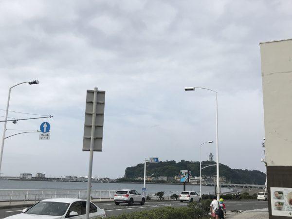 今日の江ノ島東浜コンディション
