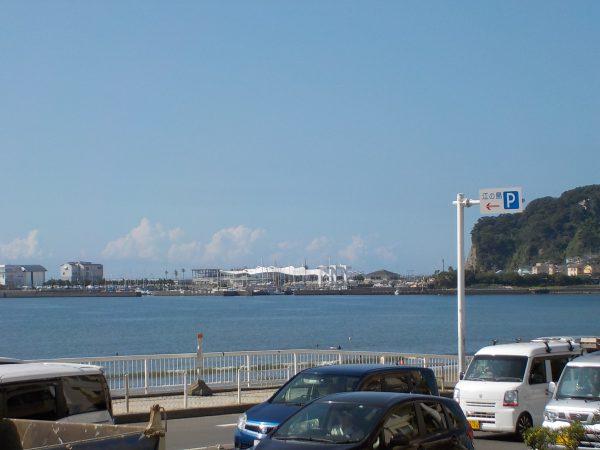 穏やかな東浜・・・!