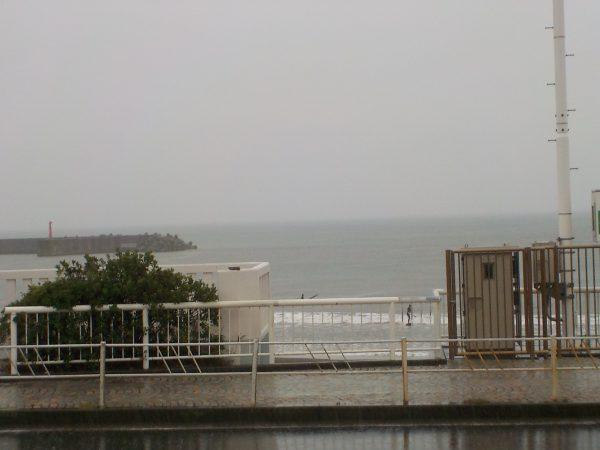 雨、風、波・・・!