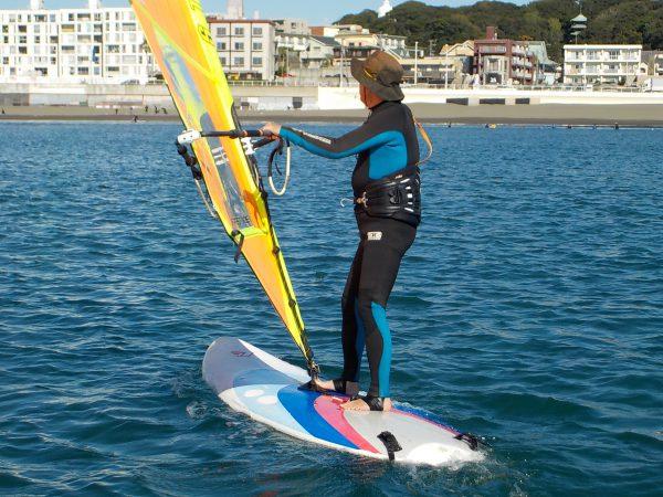5ヶ月振りのウィンドサーフィンスクール 水曜日