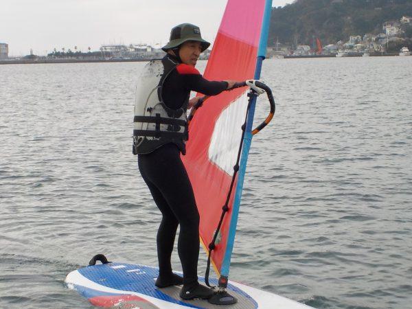 AMウィンドサーフィンスクール・・・