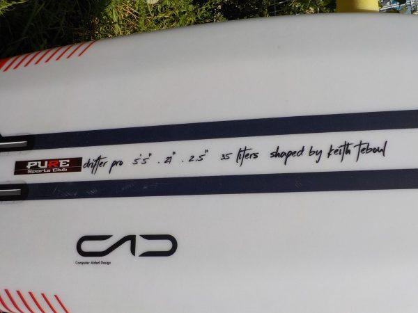 """KT5'5""""プローンSURF FOILボード"""